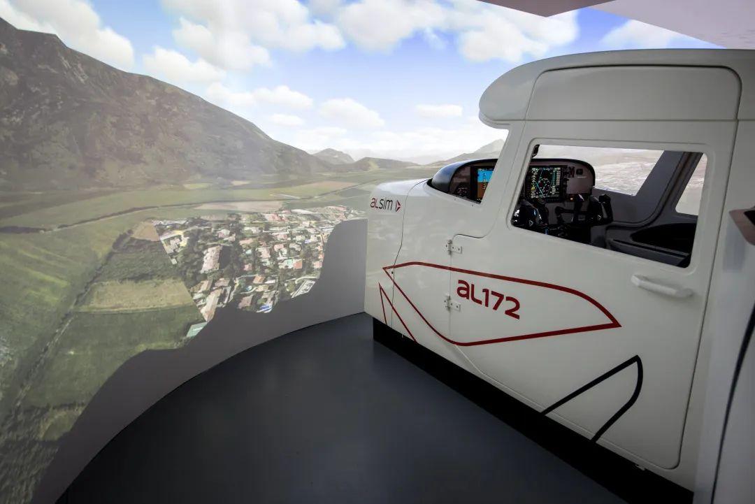 虚拟仿真案例:明基与法国ALSIM联手打造中国民航飞行学院沉浸式飞行模拟器项目