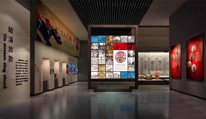 当涂博物馆设计效果图--青岛马克展览公司