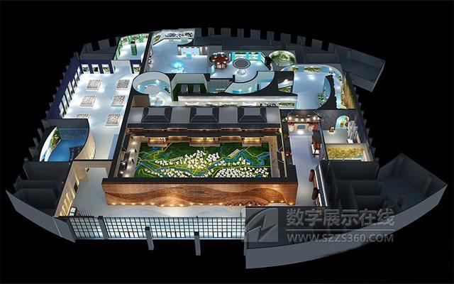 规划馆设计案例:神奇武陵、美丽恩施――恩施土家族苗族自治州城市规划展览馆