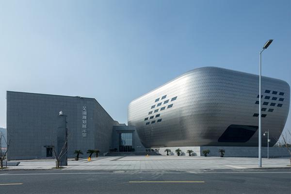 规划馆设计案例:皖江明珠创新之城――芜湖规划展示馆