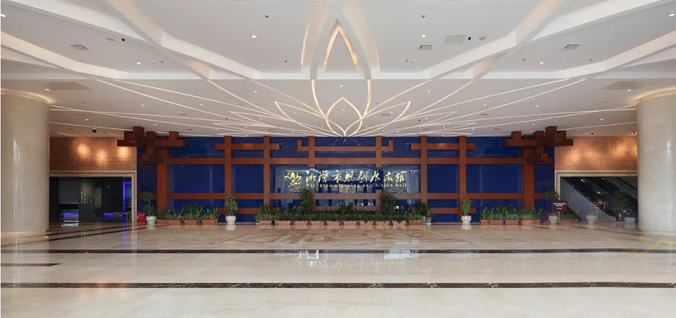 规划馆设计案例:伟人故里,金色湘潭――湘潭市规划展示馆