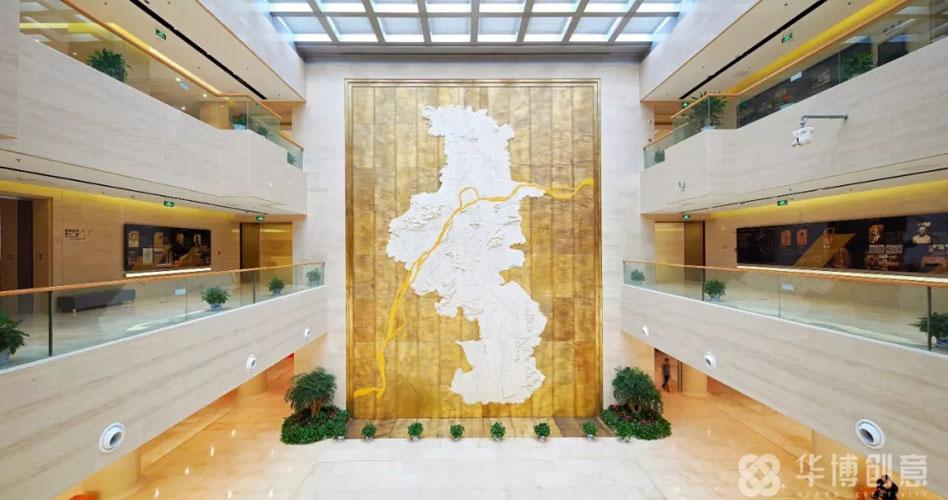 规划馆设计案例:钟灵毓秀佳美地,规划建设金陵城――南京市规划建设展览馆