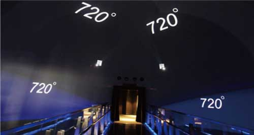 720度全天域球幕影院