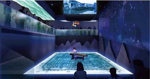 巨型地幕影院