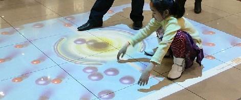 全息互动投影系统