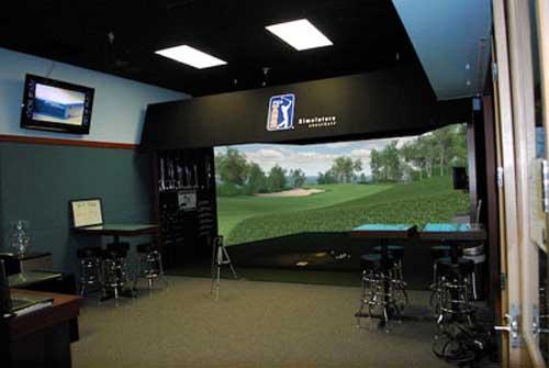 美国aboutgolf雷达模拟高尔夫