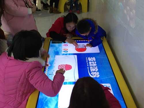 海洋主题画画互动装置