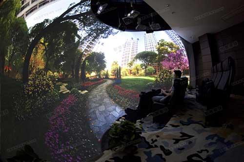 全景3D体验系统(裸眼VR、球幕)