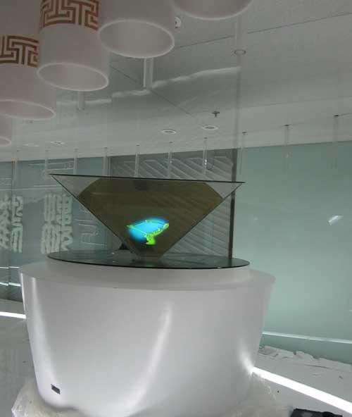 360度全息幻影成像,全息投影,360度全息柜