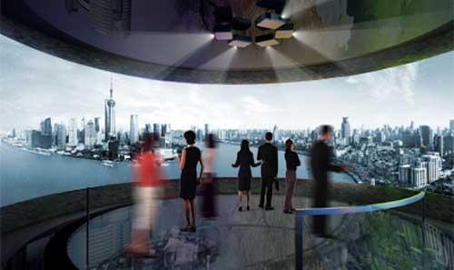 360度全景环幕影院