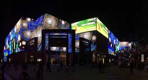 创意透明LED屏幕