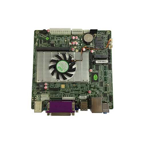 低功耗处理器ATOMD525双核1.8G 无风扇全静音设计 全固态胆电容设计,安全稳宏。 板载18/24位LVDS,支持单六单八中小屏 嵌载MiuiSATA,l*SATA  I/O: 6C0M,8USB,1*LPT打印口 双网可选 D5M2C8 D4M2C8 表示单八LVDS 可双VGA