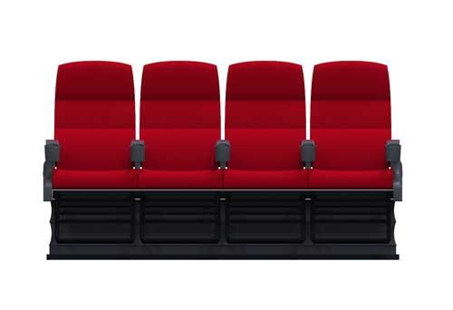 4人座动感座椅