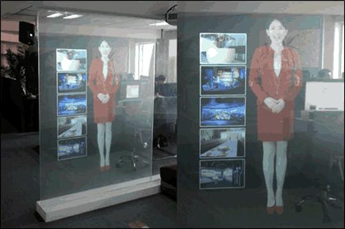 虚拟迎宾、虚拟解说员、虚拟主持人