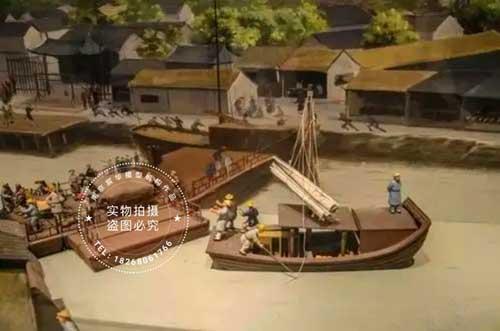 南京模型公司|水利工程场景复原沙盘