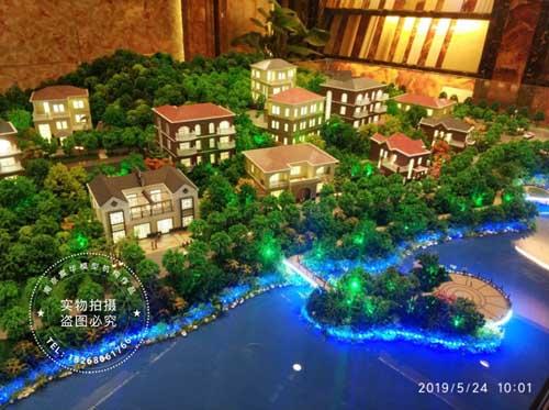 南京模型公司|轻钢别墅展示沙盘模型