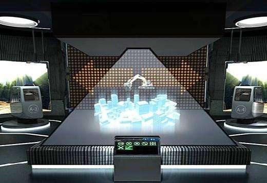 西安360度全息投影,全息展示柜,裸眼3D全息投影