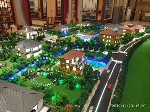 南京模型公司|轻钢别墅沙盘模型