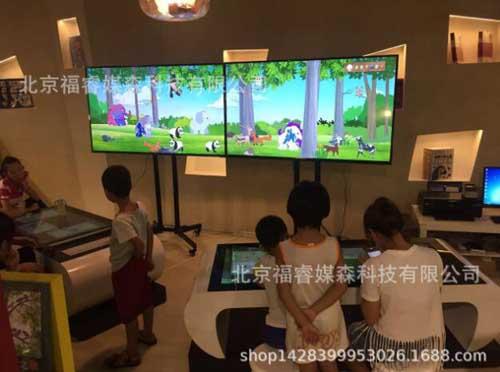 研学旅行基地 多媒体互动桌 儿童早教智力学习互动桌子