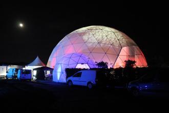 景区主题乐园亲子乐园球形篷房――耀盈360°沉浸式体验馆