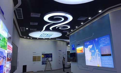 东方风电展厅设计搭建_展厅设计搭建效果图_展厅展览设计