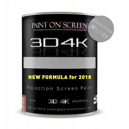 PaintOnScreen 3D4K-gain1.8工程投影幕