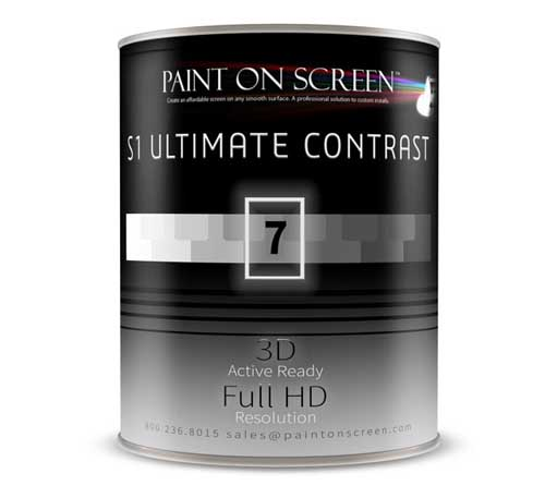 PaintOnScreen Ultimate Contrast工程投影幕