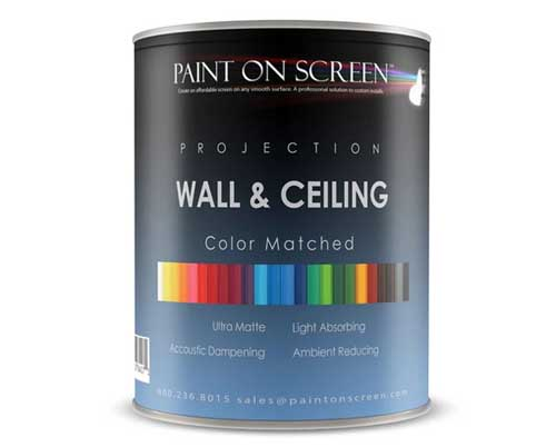 PaintOnScreen 声光抑制涂层工程投影幕