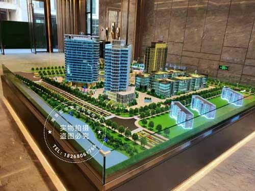 南京仁恒置地广场沙盘模型
