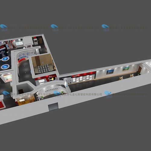 声光电税务教育馆装修设计-高科技馆设计