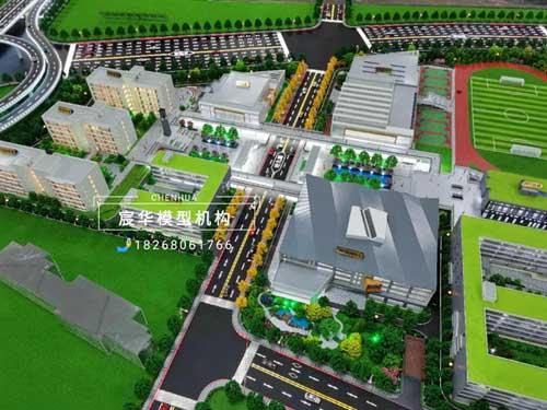 南京中华中学雨花校区沙盘模型