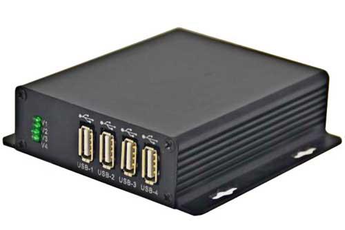 Hangalaxy USB 2.0 光纤传输器传输器