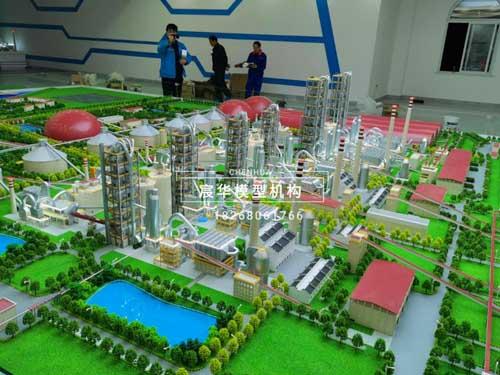 南京模型公司|海螺集团工业厂区机械设备沙盘模型