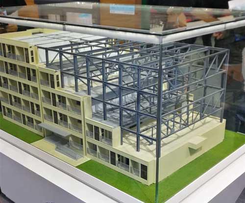 建筑工地施工模型定制,PC预制构建模型定制