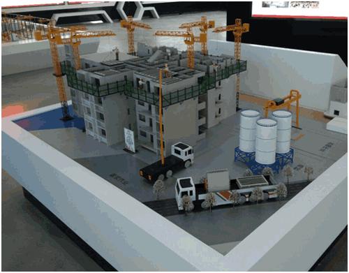 PC构建装配式建筑工地模型