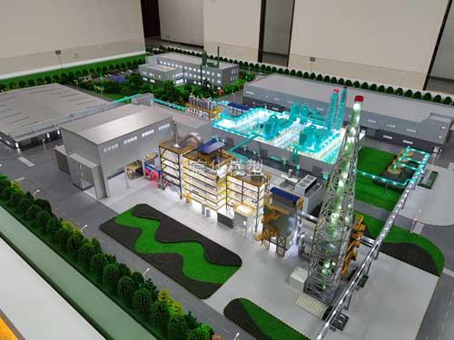 南京模型公司|常州和润环保工厂模型