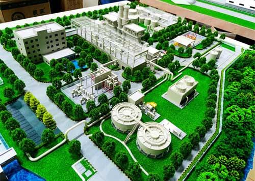 华润电力(常州)电厂模型