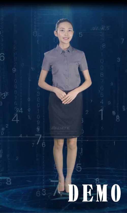 全息投影虚拟主持人讲解员软件-虚拟迎宾展馆软件