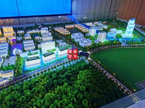 南京信息工程大学沙盘模型-由宸华南京模型公司设计制作