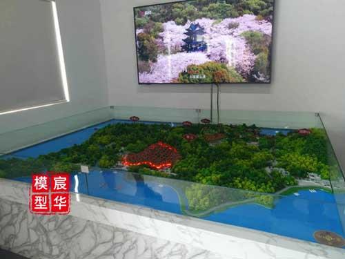 苏州香雪村村史馆沙盘模型定制-南京宸华模型公司制作