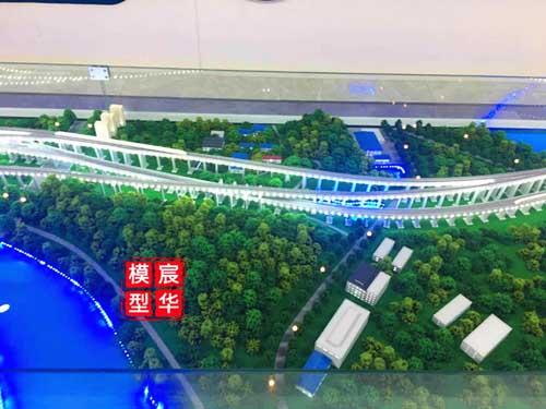 铁路交通沙盘模型