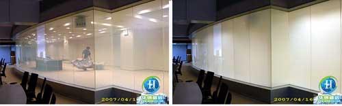 智能电控玻璃幕