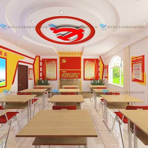 现代化村史文化馆平面设计 多媒体村史展厅设计案例