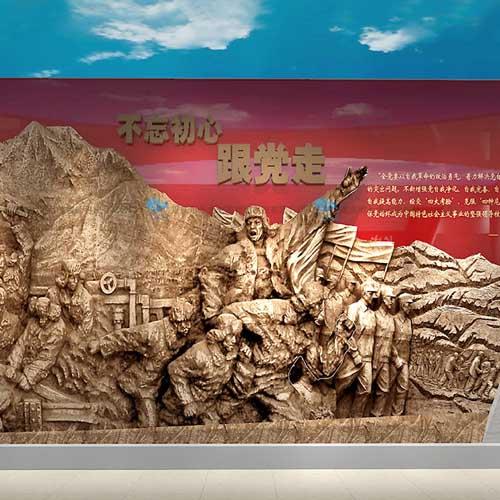 多媒体军史示范基地解决方案 多媒体互动军史纪念馆专业设计公司