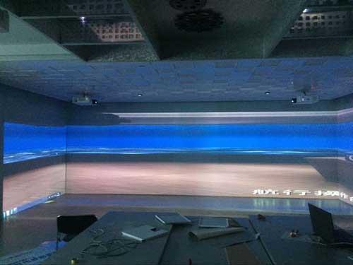 智能企业文化展厅设备清单 现代化企业展厅设计案例