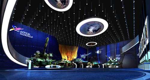 数字化银行行史展厅规划设计 高科技展厅透明屏软件开发
