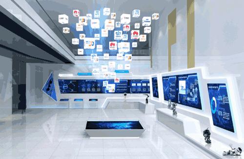 声光电展馆装修设计 数字化银行行史展厅创新创意软件开发