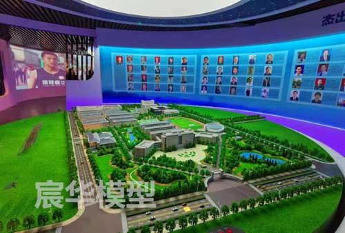 南京沙盘公司|常州《江苏省前黄高级中学》沙盘模型