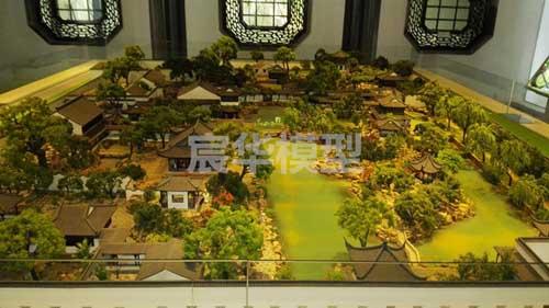 南京沙盘公司|古建筑场景复原沙盘 古镇模型制作 古村落场景复原沙盘设计定制