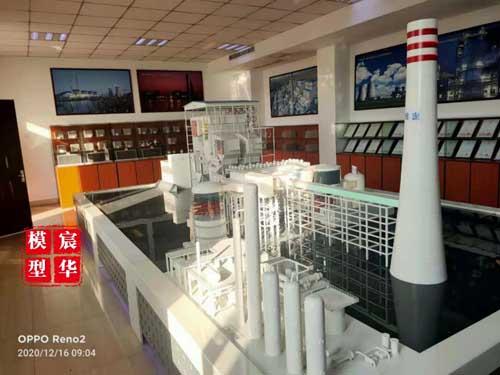 扬州峰业环保科技沙盘模型